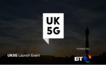 UK5G launch
