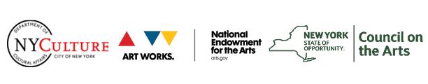 NYSCA, DCA, and NEA logos